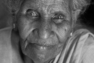 Portrait of Granny Chennai India