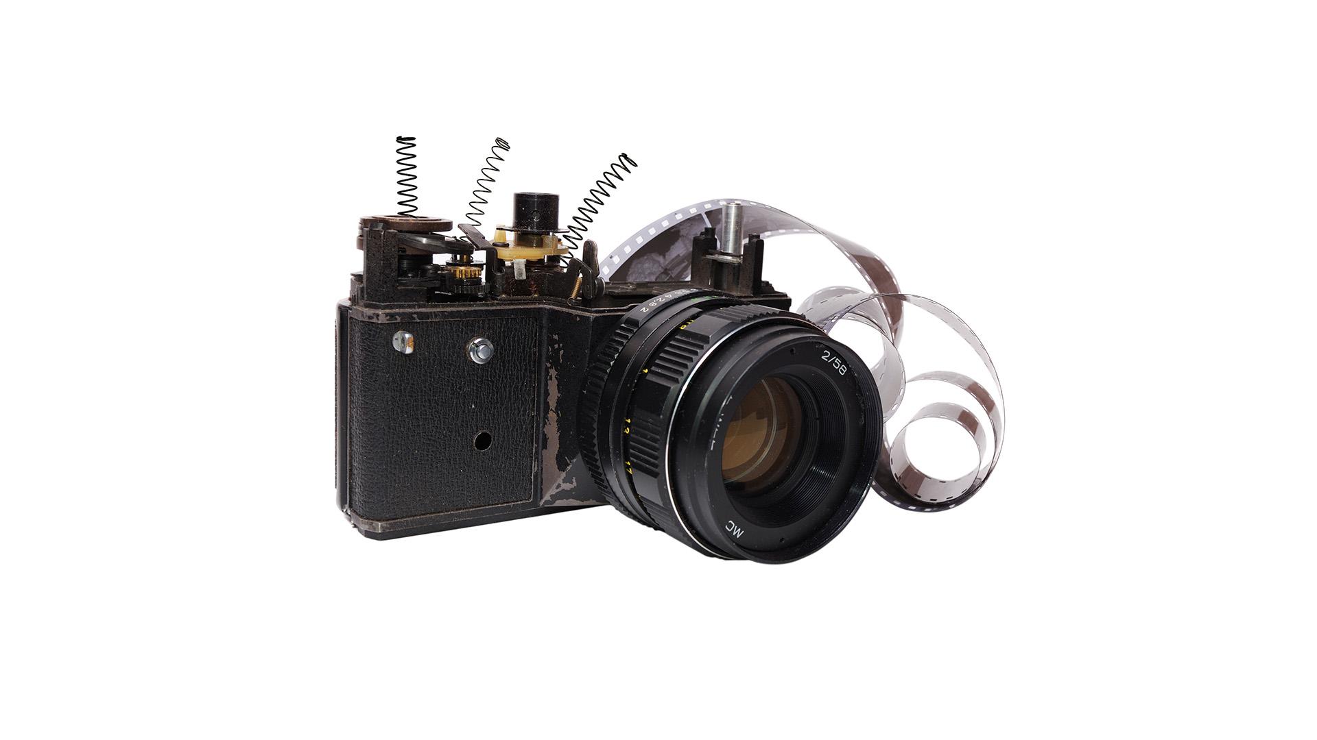 Brocken Kamera