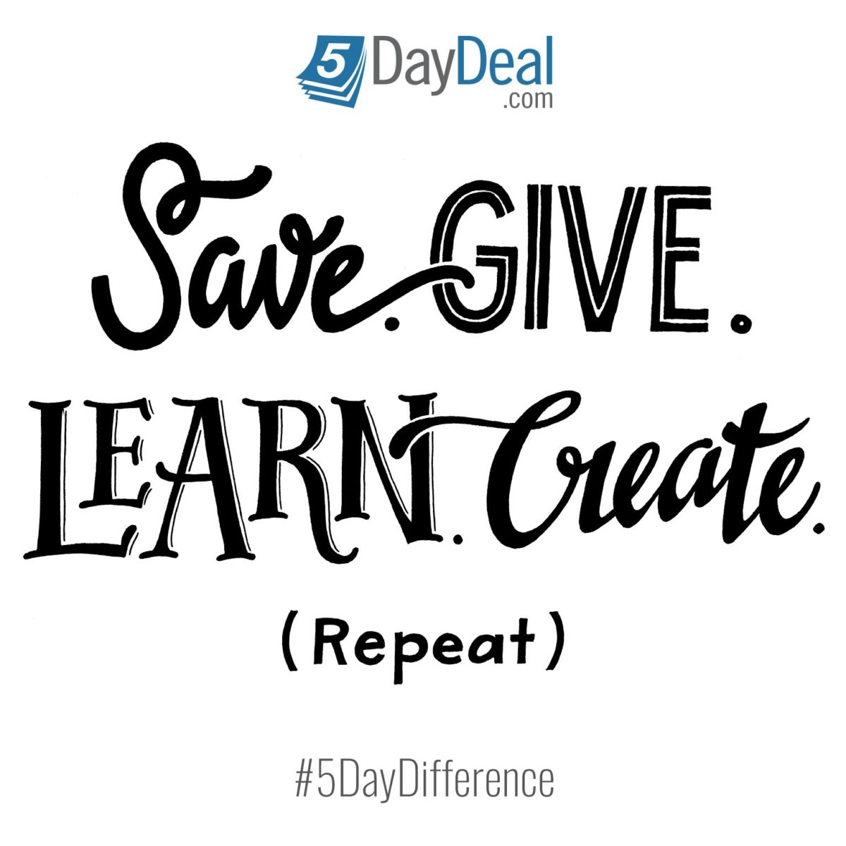 5daydeal-save-give_learn-create-repeate-logo