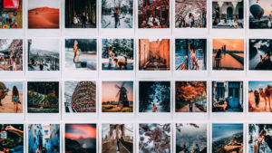 Grid of photos